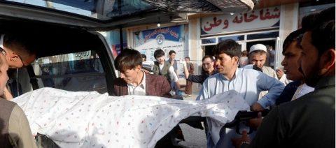 48 patay sa suicide bombing sa Kabul, Afghanistan