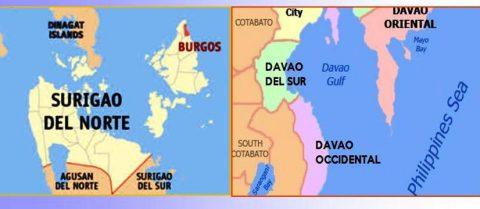 General Luna sa Surigao del Norte at Davao provinces, niyanig ng lindol