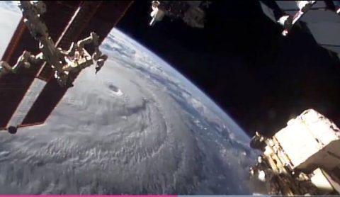 Kamangha-manghang larawan ng Hurricane Lane mula sa kalawakan, ipinalabas ng NASA