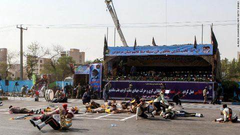Gulf Arab States, sinisi ng lider ng Iran sa nangyaring pamamaril sa Military parade