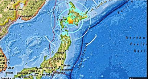 Mga serye ng landslides at aftershocks, naitala matapos ang 6.6 magnitude na lindol sa Hokkaido, Japan