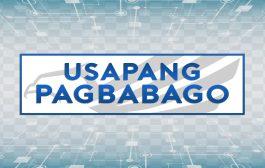 USAPANG PAGBABAGO (Monday- Friday ; 9:00 - 10:00am)