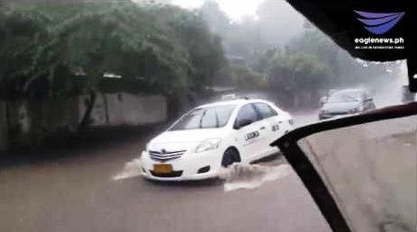 Metro Manila inulan; ilang lansangan binaha