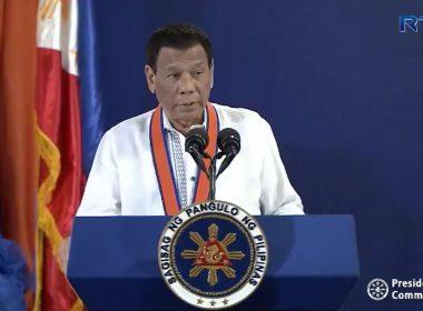 Pangulong Duterte, tututukan ang pananalasa ng bagyong Rosita sa Northern Luzon