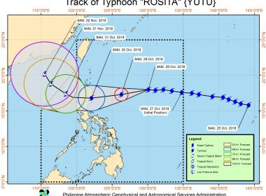 Ibat-ibang ahensya ng pamahalaan handa na sa pananalasa ng bagyong Rosita sa Northern Luzon - Malakanyang