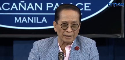 Kautusan ni Pangulong Duterte na military take-over sa operasyon ng Bureau of Custom, ligal - Malakanyang