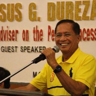 Resigned OPPAP Secretary Dureza walang balak ilagay sa ibang puwesto ni Pangulong Duterte