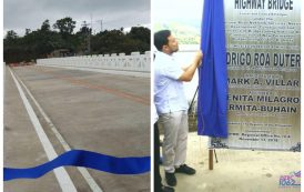 Diokno highway bridge sa Lemery, Batangas, pinasinayaan na