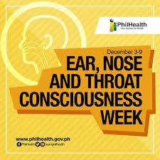 Ear, Noseand Throat consciousness week, ginugunita ngayong linggong ito