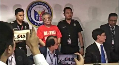 Dating Chinese government official na wanted sa kurapsyon, arestado ng BI at PACC sa Pasay