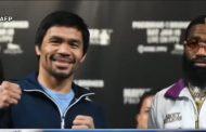 Unanimous decision. WBA Welterweight Champion Manny Pacquiao wagi vs Adrien Broner
