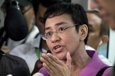 Rappler CEO Maria Ressa, nagpalipas ng gabi sa tanggapan ng NBI matapos arestuhin dahil sa Cyberlibel case