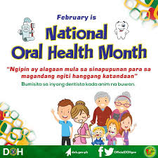 Philippine Dental Health month o Oral month, ginugunita ng DOH