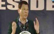 Pangulong Duterte, umalis na papuntang China