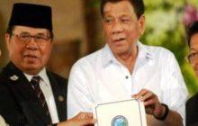 Pangulong Duterte at BARMM Chief Minister Al Hadj Murad Ibrahim, nagpulong sa Malakanyang kaugnay sa pagtatalaga kay Agriculture Secretary Manny Piñol sa Mindanao Development