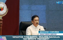 Senador Tito Sotto, muling nahalal na Senate President