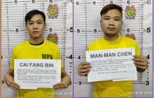 Dalawang Chinese nationals, arestado dahil sa pagmamaneho ng lasing sa Maynila