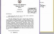 Korte Suprema pinasasagot ang Office of the President sa petisyon ng Rappler laban sa pagbabawal ng Malacañang sa mga reporter na magcover kay Pangulong Duterte