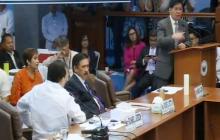 Hepe ng documents at records section ng Bucor, kinastigo ni Senador Ping Lacson dahil sa pagsisinungaling