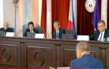 JBC, inumpisahan na ang Public interview sa mga aplikante sa posisyon ng Chief Justice...SC Justice Diosdado Peralta, napaiyak sa kaniyang pagsalang sa JBC
