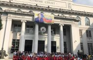 Acting Chief Justice Antonio Carpio, dumalo sa kaniyang huling Flag ceremony bilang mahistrado ng Korte Suprema