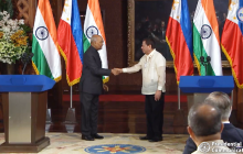 Pangulong Rodrigo Duterte at Indian President Ram Nath Kovind, nagpulong sa Malakanyang...kasunduan sa pagitan ng Pilipinas at India, nilagdaan