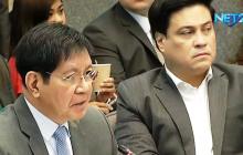 Mga opisyal ng Office of Civil Defense, nasermunan sa pagdinig ng Senado