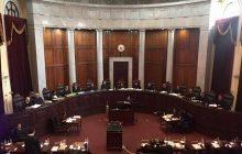 Chief Justice Diosdado Peralta, ipinag-utos sa Korte ang mahigpit na pagbabawal sa paggamit ng mga  cellphone at iba pang gadget sa mga pagdinig sa Korte