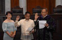 Bagong SC Justice Edgardo delos Santos, nanumpa na sa puwesto