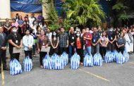 Korte Suprema, namigay ng relief goods sa mga kawani ng hukuman sa Quezon City na naapektuhan ng pagsabog ng Bulkang Taal