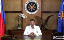 Pangulong Duterte, nagbigay ng mensahe sa sambayanang Filipino kaugnay ng Coronavirus disease