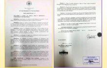 State of Public Health Emergency proclamation ni Pangulong Duterte dahil sa Coronavirus 19, inilabas na ng Malakanyang