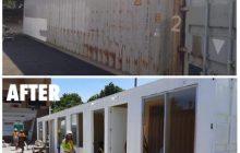 Shipping containers, iko-convert na rin bilang mobile health facility ng DPWH