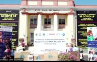 Amerika, nag-donate ng mga PPE at Hygiene kits sa Davao City
