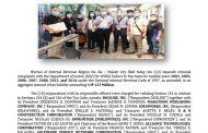 Sampung korporasyon sa Makati City, nahaharap sa P123M tax evasion case