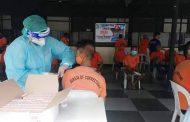 Mga inmate sa Maximum security compound sa Bilibid, binakunahan laban sa influenza