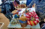 Mahigit P3 milyon halaga ng gamit sa paggawa ng dinamita, nasabat sa Northern Samar