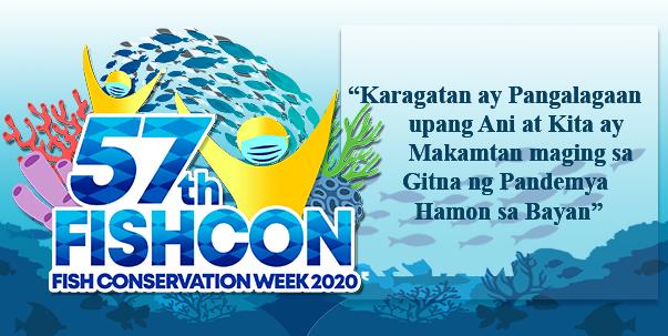 57th Fish Conservation Week ipinagdiriwang ng DA-BFAR, Fishery Sector