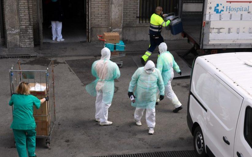 Covid-19 cases sa Spain, mahigit na sa kalahating milyon
