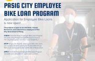 Bike Loan Program para sa mga empleyado ng Pasig City Government, inilunsad