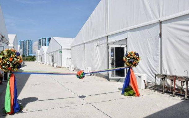 Mega Quarantine Facility sa Metro Manila, binuksan na