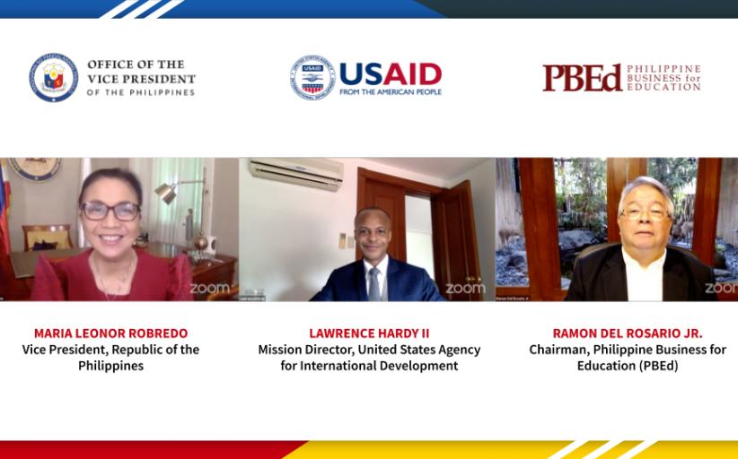 Office of the Vice- President at USAID inilunsad ang libreng training program para sa mga out-of-school youths at mga walang trabaho
