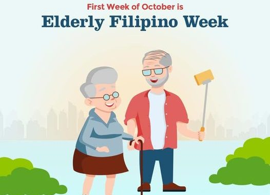 "Elderly Filipino Week, ginugunita; Webinar series :  ""Healthy Habits This Pandemic Crisis"""