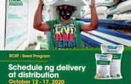 Dept. of Agriculture, sinimulan na ang pamamahagi ng libreng inbred seeds delivery at distribution sa mga bayan at lungsod sa bansa