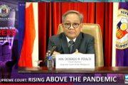 Oral arguments sa mga Anti-Terror law petitions naantala dahil sa dami ng petisyon, ayon kay Chief Justice Diosdado Peralta