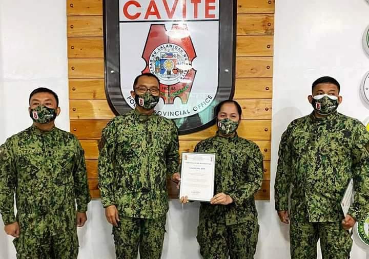 Carmona Municipal Police, pinarangalan bilang Top  Performing Police Station on Anti-Illegal Drug Operations sa Cavite