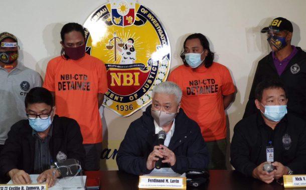 Dalawang hinihinalang miyembro ng Abu Sayyaf group na wanted sa kidnapping, arestado ng NBI sa Pasay City