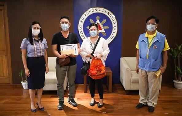 Mga Centenerian ng Quezon City, pinagkalooban ng insentibo kaugnay ng pagtatapos sa paggunita ng Filipino Elderly week