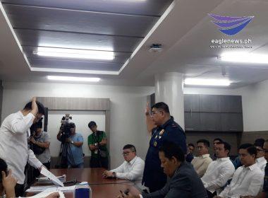 Tinaguriang Ninja cop na si Lt. Col. Rodney Baloyo,pinalaya na ng Senado