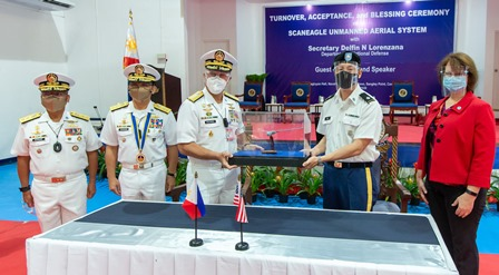 710 milyong pisong Unmanned Aerial System, ipinagkaloob ng US military sa Philippine Navy